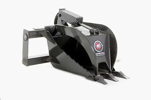 Skid Steer Stump Grapple Attachment Professional Series