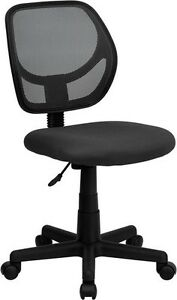 Mid back Black Mesh Task Chair And Computer Chair Home Office School