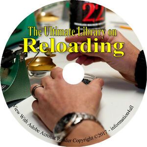 Reloading Ammunition Firearm Reload Ammo Self Sufficiency Survival Books on DVD
