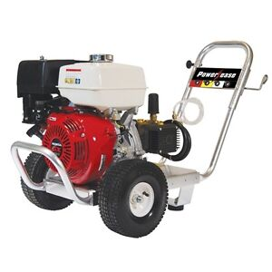 New Be 4000 Psi Comet Triplex Pump 13 Hp Honda Gx390 Pressure Washer