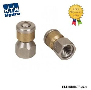 1 4 Rotating Sewer Cleaning Jetter Nozzle 8 Free Shipping Best Price On Ebay