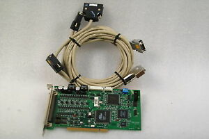 Adlink Motion Controller Board Pci 8164 51 12406 0a3 Tested Working Free Ship
