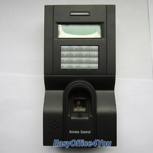 F8 Fingerprint password Access Controller Time Attendance Tcp ip And Rs485