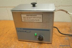 Vwr Ultrasonic Cleaner Water Bath Model 75t 75 T