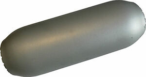 Hot Dog Resonator Muffler 9 Long 2 25 In Out High Flow Mild Steel New
