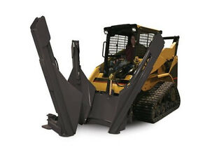 Skid Steer Tree Spade Transplanter Attachment For 30 Tree Ball