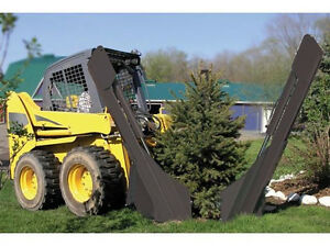 Skid Steer Tree Spade Attachment And Transplanter For 40 Diameter Tree Ball