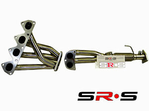 Srs Stainless Steel Headers For Honda Prelude 1997 1998 1999 2000 2001 Non Sh