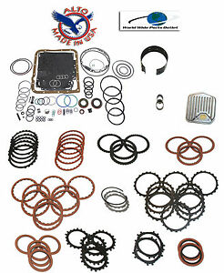 Th700r4 High Performance Rebuild Kit Stage 3 W 3 4 Power Pack 1987 1992