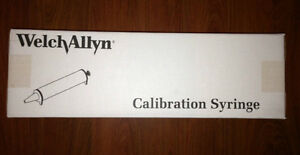 Welch Allyn Calibration Syringe 3l Spirometry 703480 For Cp200 New