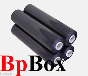 80 Ga 4 Black Stretch Film Rolls Wrap Packaging 18 X 1000 Promotion