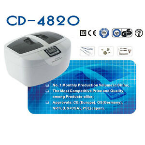 Cd 4820 Ultrasonic Cleaner Heater Jewelry 2 5l 110v