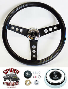 65 69 Mustang Steering Wheel Cobra 13 1 2 Classic Black