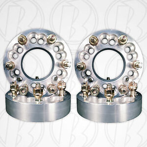 Four 6 Lug 5 127mm 6 X 135mm To 6 X 135mm Wheel Adapters 12mm 1 5 Studs