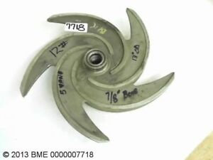 Impeller 12 7 8 Bore 13 Od