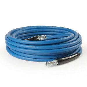 50 Ft 3 8 Blue Non marking 4000psi Pressure Washer Hose Free Shipping