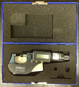 Fowler 0 1 Inches 0 00005 Electronic Micrometer Caliper Bundled Manual