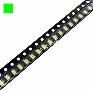 1000pcs Green Smd Smt Led 1206 Superbright Green Leds Lamp Light