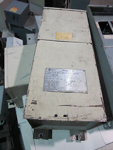 Westinghouse 5 Kva 480x120 240 Volt Substation Transformer load Center t179