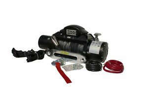Engo 9k Sr9s Electric Winch With Synthetic Rope Fairlead Remote Offroad