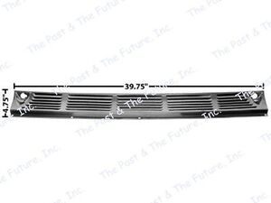 55 56 57 58 59 Chevy Chevrolet Pickup Truck Cowl Vent Grille Grill Cpcp5559 4
