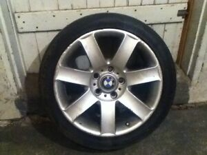 Four Bmw 18in Rims W Tires