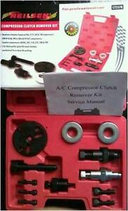 Compressor Clutch Removal Kit Autos A c Air conditioning Units Service Tools