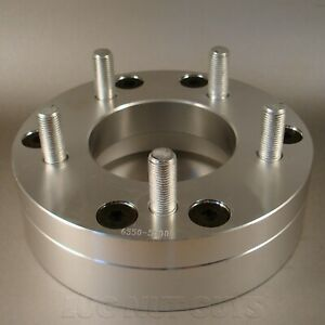 4 Wheel Spacers Adapters 6x5 5 To 5x5 2 Thick 6 Lug To 5 Lug 5x127