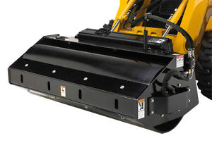 Skid Steer Vibratory Roller Attachment With Smooth Drum 73 Wide