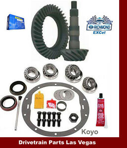 Richmond Excel Gm 8 5 3 08 Ratio Ring And Pinion Gear Set Master Kit 1970 99