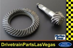 Motive Blue Ford 8 8 10 Bolt Rear End 4 56 Ratio Ring And Pinion Gear Set