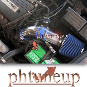 Blue 2004 2008 Acura Tsx 2 4 2 4l Base Ram Air Intake Kit Systems Filter