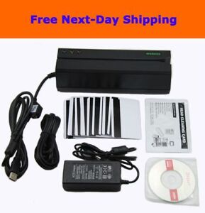 Msr605 Magnetic Stripe Card Reader Writer Encoder Credit Magstripe Swipe Msr206