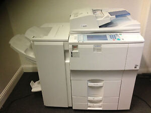 Gestetner Dsm755 With Booklet Finisher Copy Print Scan Free Shipping In Usa