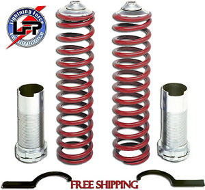 79 04 Ford Mustang Granatelli Coil Over Springs Front Springs Kit Gm Co7998st