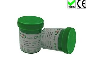 Lead free Solder Paste Low Temp No Clean Soldering Flux Paste 500grams Sn42bi58