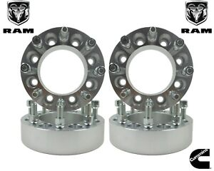 4 Pc 1 5 Dodge Ram 2500 3500 Forged Wheel Spacers Adapters 8 Lug Heavy Duty