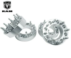4 1994 2011 Dodge Ram 2500 3500 1 5 Forged Billet Aluminum 8 Lug Wheel Spacers