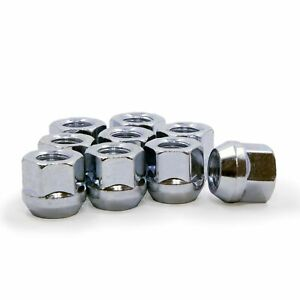 20 Lug Nuts Open End Bulge Acorn 7 16 Chevrolet Buick Pontiac Oldsmobile
