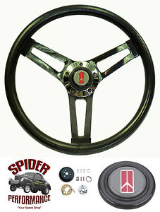 1968 Cutlass F85 442 Steering Wheel Olds 14 1 2 Shallow Depth Steering Wheel