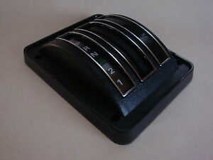 1971 1972 1973 Ford Mustang Automatic Trans Shifter Bezel Cover Assembly