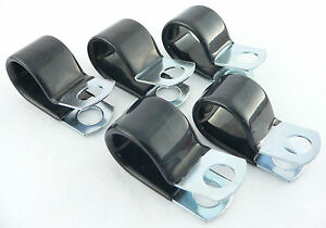 Per 2908 5 6 An Fuel Line Hose Vinyl Coated Cushion Clamps