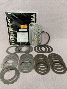 Gm Th400 Rebuild Kit transtec Raybestos Waffle Frictions Steels Band Filter