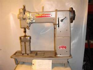 Chandler Chandsew 55b Double Needle Post Sewing Machine