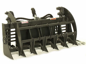 Mini Skid Steer Grapple Rake 36 Wide choose Your Brand