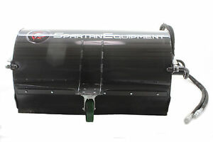 Mini Skid Steer Boxbroom Sweeper 48 Wide Polywire Brush Hoses
