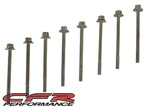 Valve Cover Bolts Chrome Centerbolt Stamped Steel Covers Sbc Set Of 8