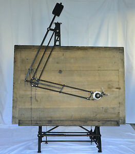 Vintage Antique Drafting Table Circa 1900 Nestler Germany