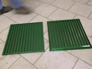 Two John Deere Side Grill Screens Jd 3010 3020 Ar26849 Tractor