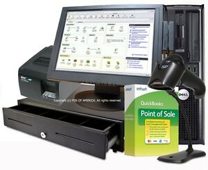 Complete Hardware Touchscreen Bundle For Quickbooks Pos For Basic Pro Multistore